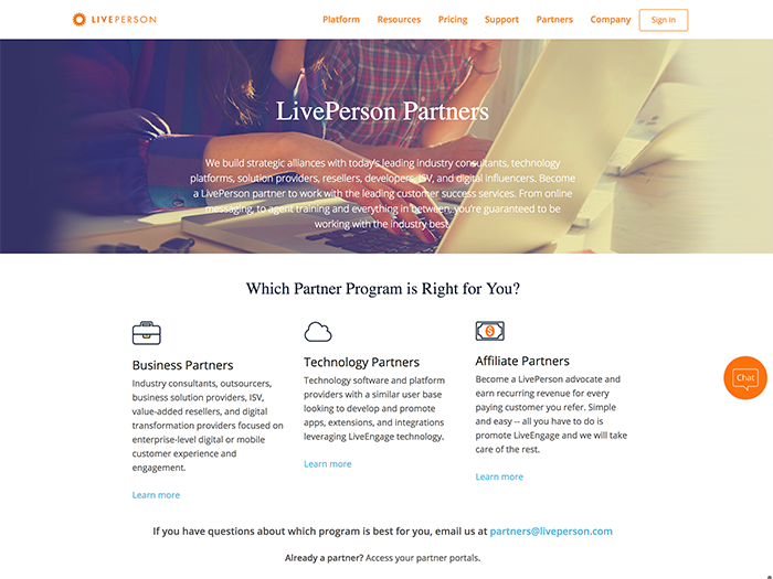 LivePerson Page1