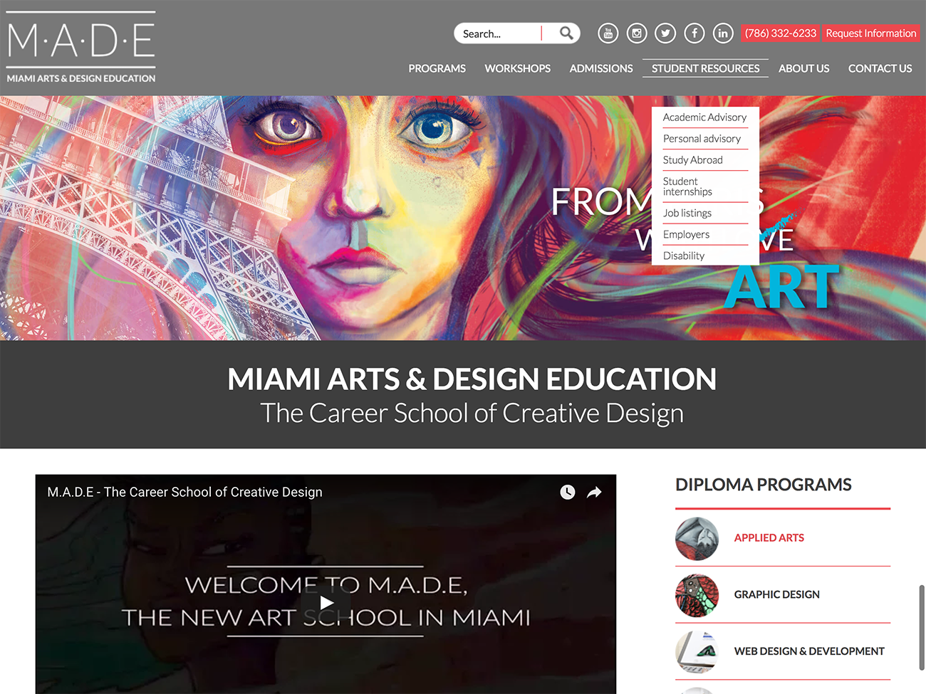 Miami Arts & Design -Web
